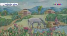 "Embedded thumbnail for Сюжет о проекте  ""Дети рисуют мир. Казахстан"" (каз.яз)"