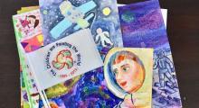 Embedded thumbnail for Рисунки казахстанских детей отправились в космос!