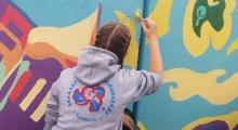 "Embedded thumbnail for ""Дети рисуют мир"" в акции ""Активный город"""