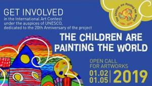"""Embedded thumbnail for """"Children are painting the world"""", 2019. Start of contest!"""